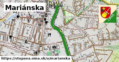 ilustrácia k Mariánska, Stupava - 0,74km