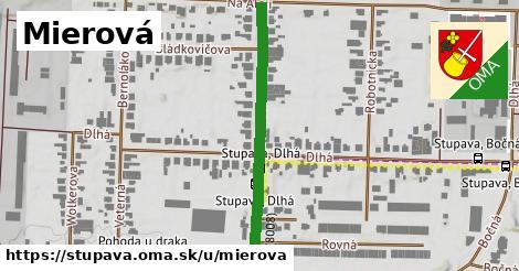 ilustrácia k Mierová, Stupava - 399m