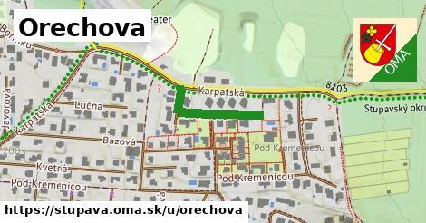 ilustrácia k Orechova, Stupava - 199m