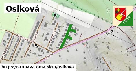 ilustrácia k Osikova, Stupava - 214m