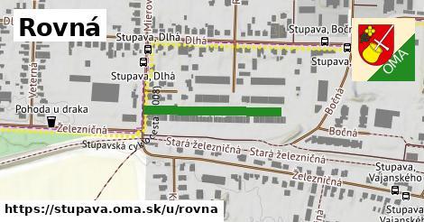 ilustrácia k Rovná, Stupava - 243m