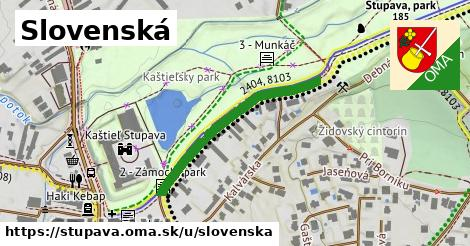 ilustrácia k Slovenská, Stupava - 403m
