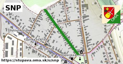 ilustrácia k SNP, Stupava - 345m