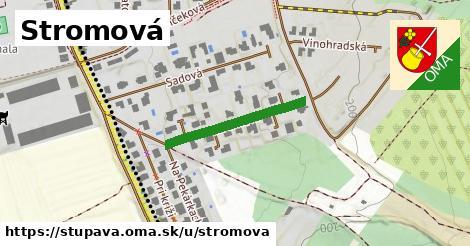 ilustrácia k Stromová, Stupava - 233m