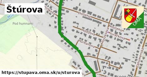 ilustrácia k Štúrova, Stupava - 607m