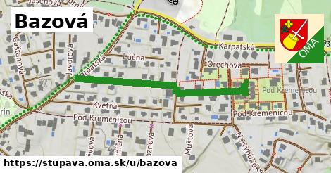 ilustrácia k Bazová, Stupava - 439m