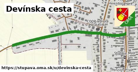 ilustrácia k Devínska cesta, Stupava - 634m