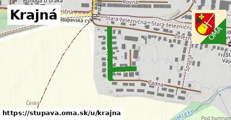 ilustrácia k Krajná, Stupava - 557m