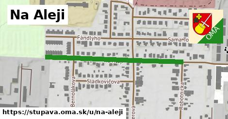 ilustrácia k Na Aleji, Stupava - 451m