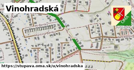 ilustrácia k Vinohradská, Stupava - 353m