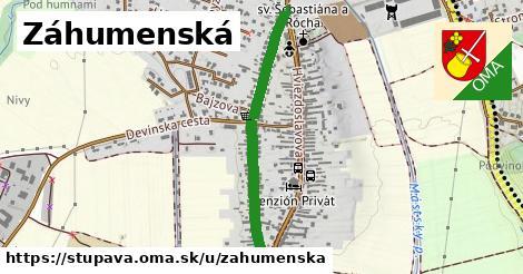 ilustrácia k Záhumenská, Stupava - 0,76km