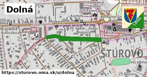ilustrácia k Dolná, Štúrovo - 285m