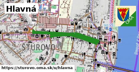 ilustrácia k Hlavná, Štúrovo - 1,03km
