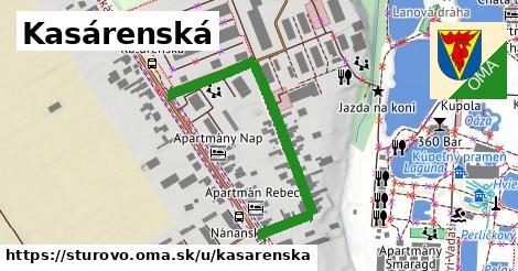 ilustrácia k Kasárenská, Štúrovo - 459m