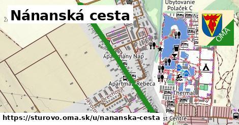 ilustračný obrázok k Nánanská cesta, Štúrovo