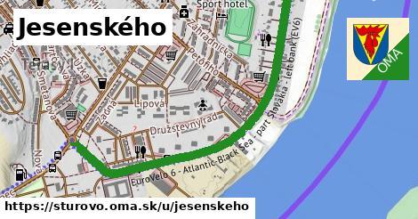 ilustrácia k Jesenského, Štúrovo - 1,37km