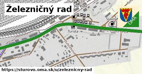 ilustrácia k Železničný rad, Štúrovo - 1,35km