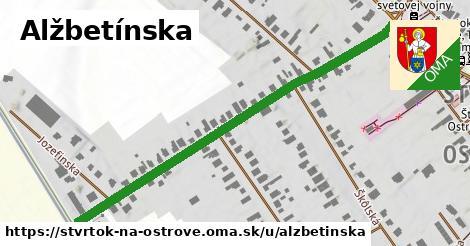 ilustrácia k Alžbetínska, Štvrtok na Ostrove - 596m