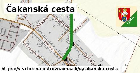 ilustrácia k Čakanská cesta, Štvrtok na Ostrove - 552m