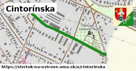 ilustrácia k Cintorínska, Štvrtok na Ostrove - 484m