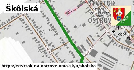 ilustrácia k Školská, Štvrtok na Ostrove - 389m