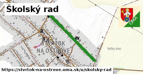 ilustrácia k Školský rad, Štvrtok na Ostrove - 0,72km