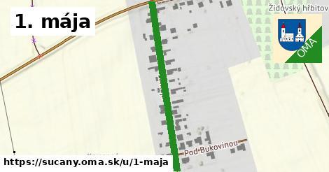 ilustračný obrázok k 1. mája, Sučany