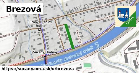 ilustrácia k Brezová, Sučany - 182m