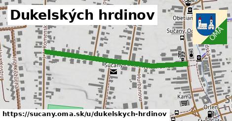 ilustrácia k Dukelských hrdinov, Sučany - 458m