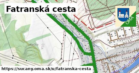 ilustrácia k Fatranská cesta, Sučany - 1,58km