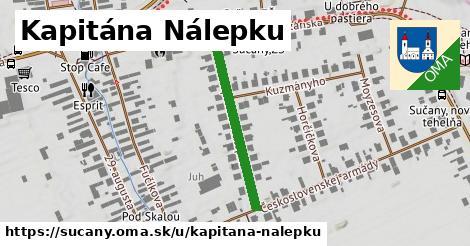 ilustrácia k Kapitána Nálepku, Sučany - 280m