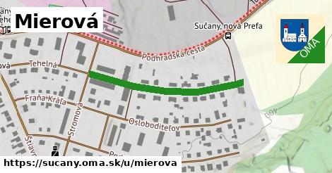 ilustrácia k Mierová, Sučany - 304m