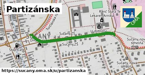 ilustrácia k Partizánska, Sučany - 441m