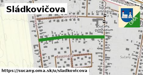 ilustrácia k Sládkovičova, Sučany - 339m