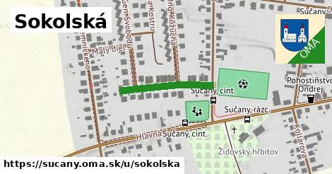 ilustrácia k Sokolská, Sučany - 209m