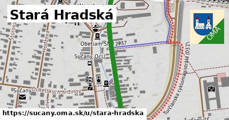 ilustrácia k Stará Hradská, Sučany - 447m