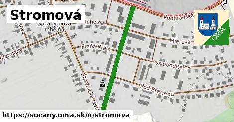 ilustrácia k Stromová, Sučany - 356m