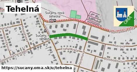 ilustrácia k Tehelná, Sučany - 208m