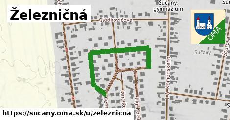 ilustrácia k Železničná, Sučany - 409m