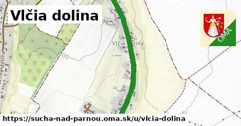 ilustrácia k Vlčia dolina, Suchá nad Parnou - 1,24km