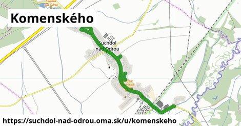 ilustrácia k Komenského, Suchdol nad Odrou - 4,7km