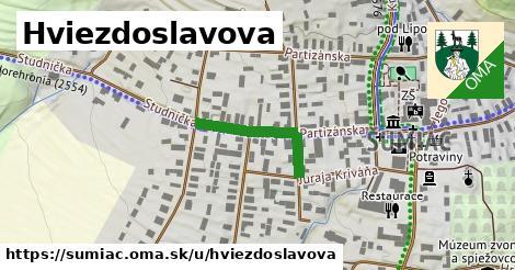 ilustrácia k Hviezdoslavova, Šumiac - 432m