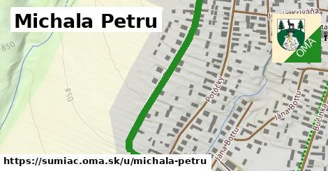 ilustrácia k Michala Petru, Šumiac - 0,86km