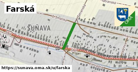 ilustračný obrázok k Farská, Šuňava