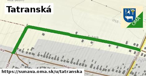 ilustračný obrázok k Tatranská, Šuňava