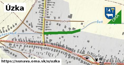 ilustrácia k Úzka, Šuňava - 174m