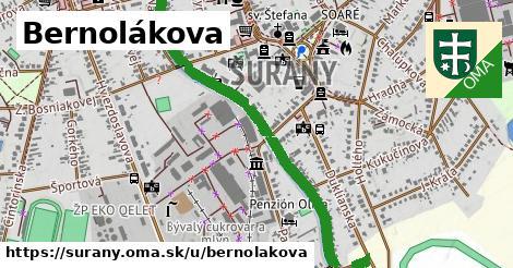 ilustračný obrázok k Bernolákova, Šurany