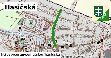 ilustrácia k Hasičská, Šurany - 533m