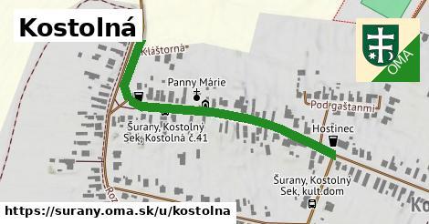 ilustrácia k Kostolná, Šurany - 488m