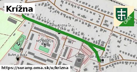 ilustrácia k Krížna, Šurany - 617m